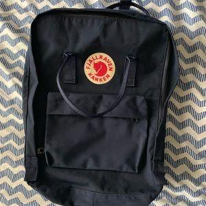 Fjallräven Kanken Classic Navy Blue Backpack